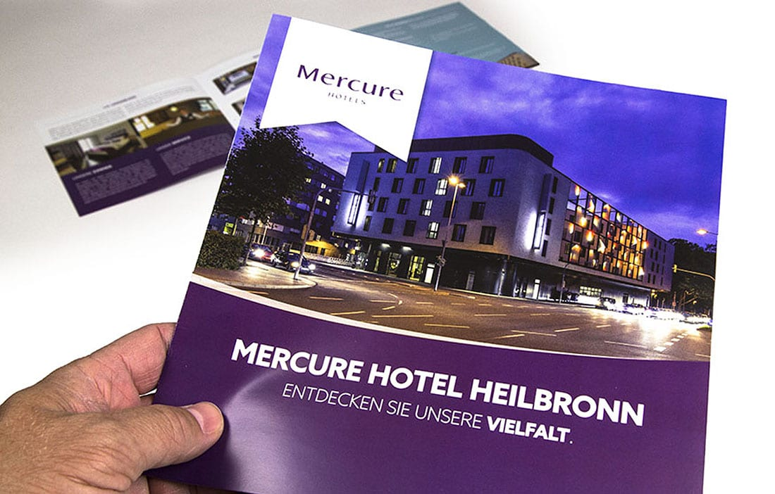 Imagebroschüre MERCURE Werbeagentur Heilbronn NUTZMEDIA