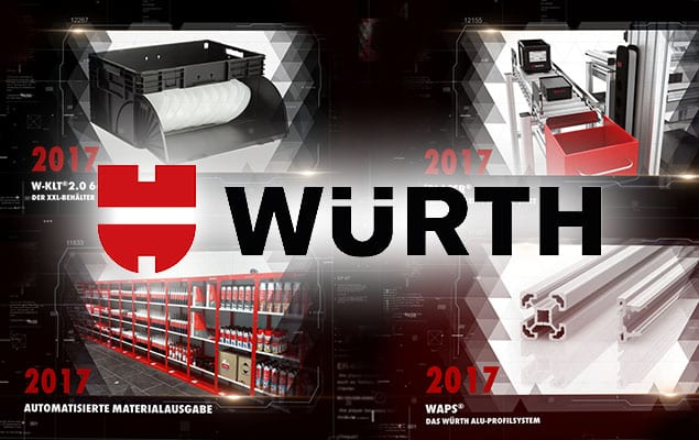 Innovationstrailer WÜRTH INDUSTRIE SERVICE