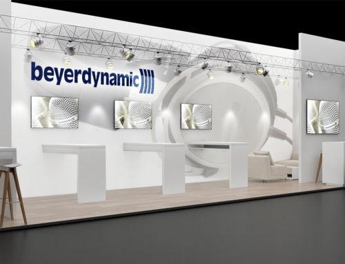 3D-Messestand | BEYERDYNAMIC