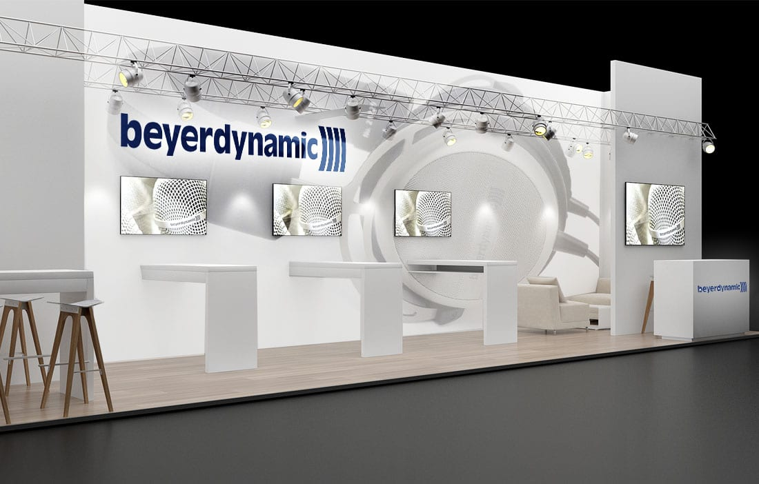 3D-Messestand | BEYERDYNAMIC