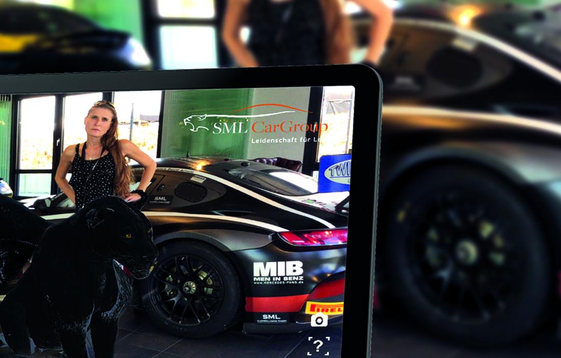 Augmented Reality Panther_SML CarGroup_Augmented Reality Profi_AR Spezialist_Bernd Nutz_NUTZMEDIA