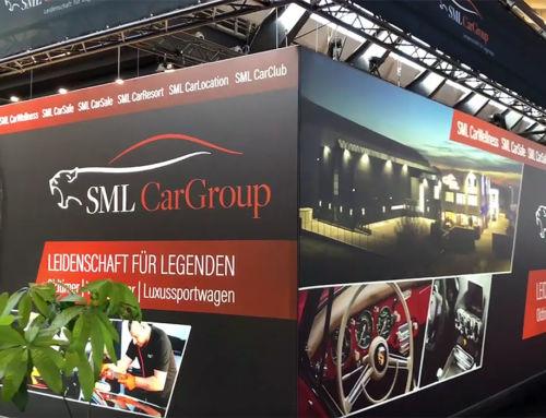 Messestand SML CarGroup Retro Classics 2019