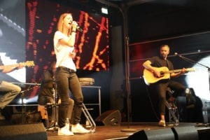 Christina Stürmer singt auf SML Event